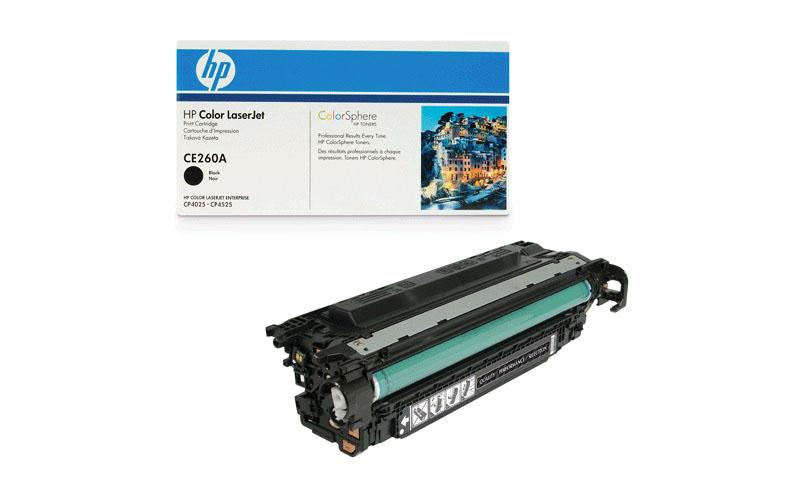 Заправка картриджа CE260A 8.5к  для HP CLJ CP4025/4525